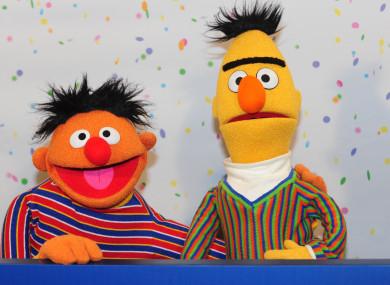 Sesame Street Muppets Bert and Ernie