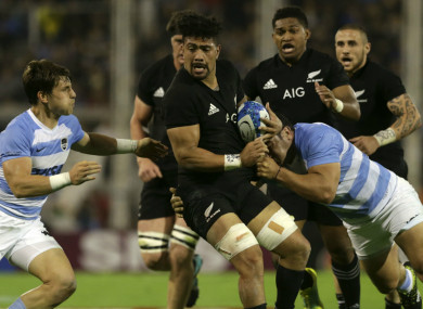 The All Blacks returned to winning ways against Argentina
