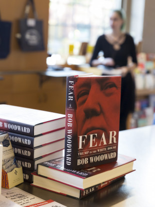 Fear: Trump in the White House on sale at Elliott Bay Book Company in Seattle.