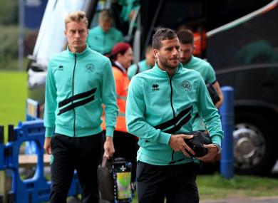 QPR's Tomer Hemed (right).