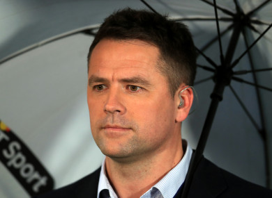 Michael Owen (file pic).
