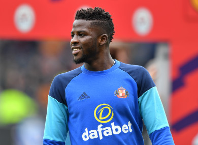 Out of work: Papy Djilobodji.
