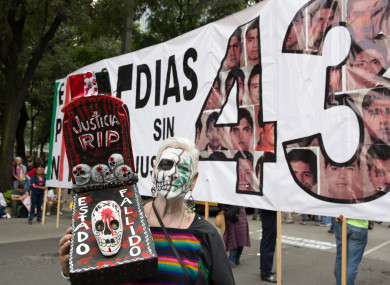 Officials have said the bodies were of victims of violent crime, so under Mexican law they cannot be cremated. (File photo)