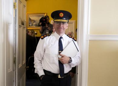 The new Garda Commissioner Drew Harris