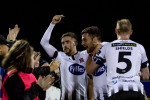 Dundalk romped into a 3-0 lead.