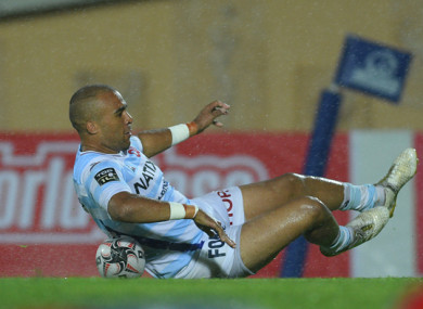 Zebo scored a consolation try at the death (file photo).
