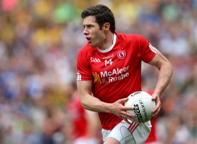 35-year-old Kavanagh suffered a knee to the face on Saturday.