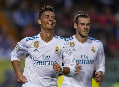 Gareth Bale says the environment at Madrid is more relaxed since Cristiano Ronaldo's departure from the club.