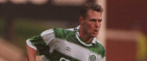 Byrne during his days at Celtic.