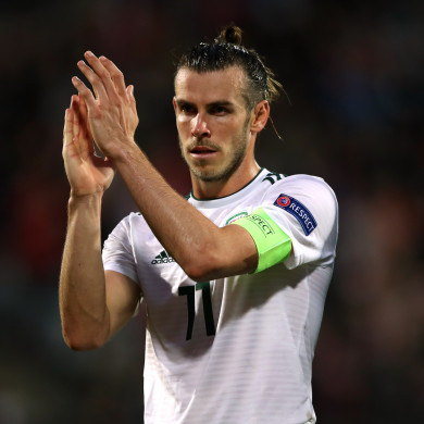 Wales' Gareth Bale will play no part in Tuesday's match at the Aviva.