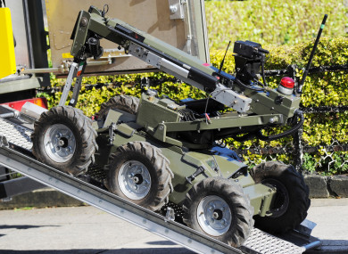 The army bomb squad was called to the An Post sorting office in Clondalkin on Monday