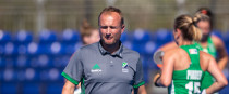 Ireland hockey manager Graham Shaw.