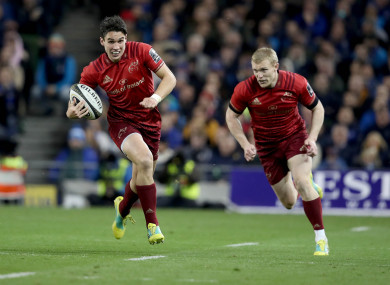 Keith Earls returns to the starting line-up, but there's no room for Joey Carbery.