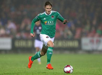 Cork City forward Kieran Sadlier.