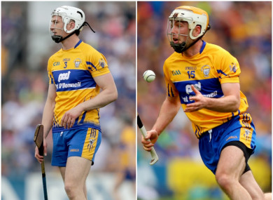 Clare duo Conor Cleary (Kilmaley) and Conor McGrath (Cratloe) were in opposition today.