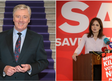 Pat Kenny hosted TV3's referendum special earlier this year.