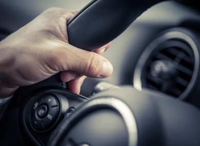 File photo of a steering wheel