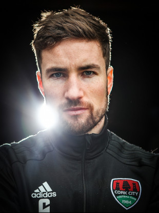 Gearoid Morrissey pictured at Cork City's media day for the 2018 FAI Cup final.