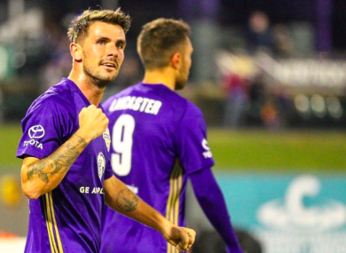 Niall McCabe is seeking a second-successive USL title with Louisville City FC.