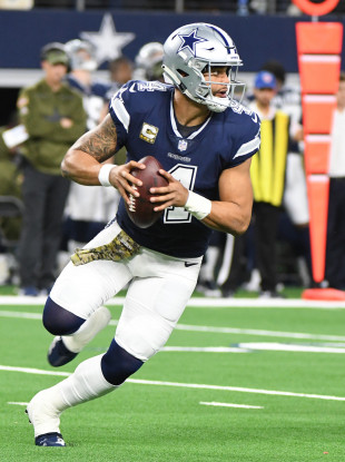 Dak Prescott's Dallas Cowboys are not having the season they would have wanted.