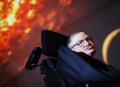 Stephen Hawking said in his new book that the universe was not created by God.
