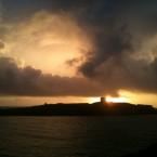 Sunrise over Dalkey Island by Blathnaid Healy.