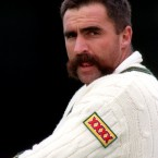 Moustache Style: Chopper  The Australian fast bowler - nominated by reader Stephen Kelly - was a great man for the tucker. He's since appeared on several weight-loss shows Down Under - but has hung onto the tache, thank God. <span class=