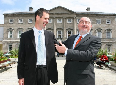 Sinn Féin's Dáil leader Caoimhghín Ó Caoláin may soon be welcoming Pearse Doherty into his ranks, if the latest opinion poll results bear fruit.