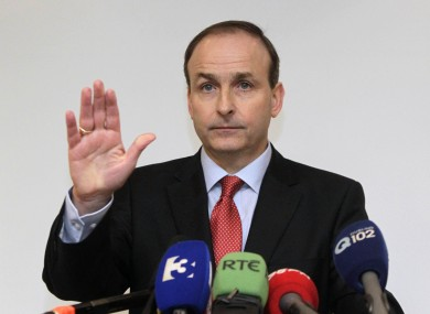 Michéal Martin's Fianna Fáil could be stopped in its tracks if the analysis of Boards.ie's online opinion poll bear fruit.