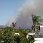 Bushfires in Armadale, Perth. (Image: @JustinLee76 on Twitter)