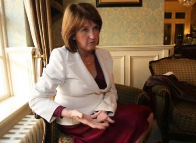 Labour's Joan Burton.