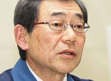 TEPCO president Masataka Shimizu: TEPCO has informed the Japanese authorities that radioactive presence outside a second power plant is higher than the