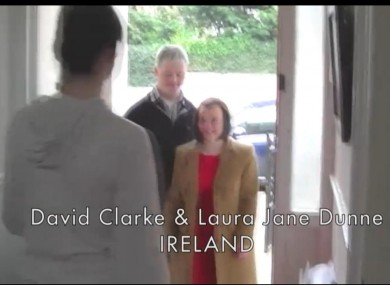 A still from the Down Syndrome International video