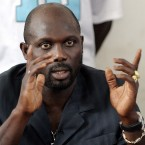 The former AC Milan striker was the first African to be named the world's best player in 1995. Ten years later he lost a runoff for president in Liberia but has since announced his intentions to challenge next year.