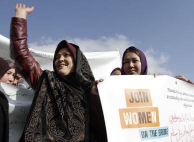 Afghan women celebrate IWD in Kabul
