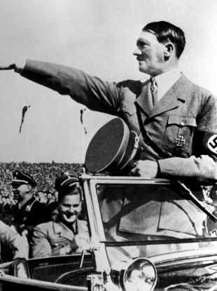 Undated photo of Adolf Hitler.