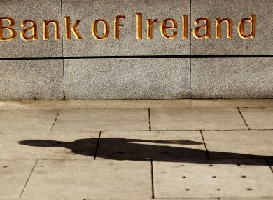 Bank of Ireland on Baggot Street in Dublin.