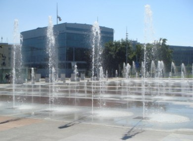 UN Plaza in Geneva, where the committee hearings took place yesterday and today.