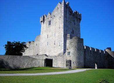 Ross Castle in Killarney, Co Kerry.