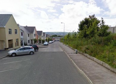 Hollyhill Lane in Cork city (File photo)