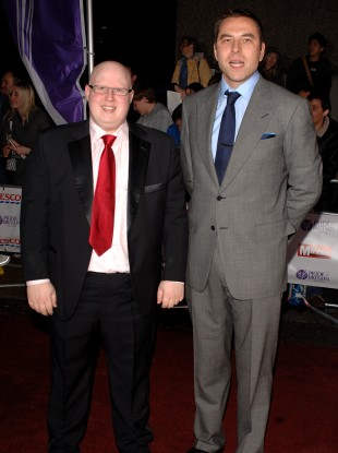 Lucas and Walliams in 2007.