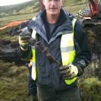 BBC historian Dan Snow (@thehistoryguy) with the pilot's seatbelt