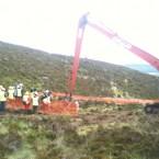 The dig gets underway
