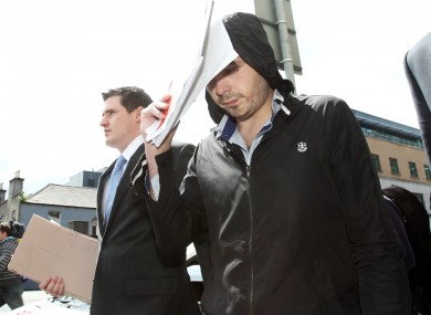 Leonard Watters. 24, at Dublin District Court today