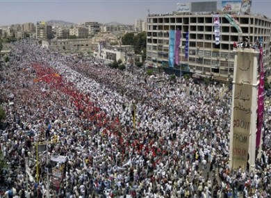 report 3 000 people missing in syrian uprising thejournal ie