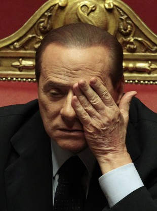 Silvio Berlusconi won't want to look at how the markets are pricing a loan to his government.