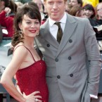 Helen McCrory and Damien Lewis arriving for the world premiere of Harry Potter And The Deathly Hallows: Part 2 in London.