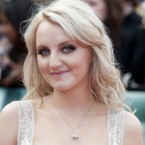 Evanna Lynch arriving for the world premiere of Harry Potter And The Deathly Hallows: Part 2 in London.