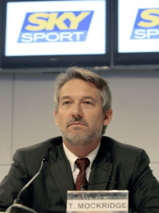 Tom Mockridge, who has taken over the role of CEO of News International after Rebekah Brooks stepped down.
