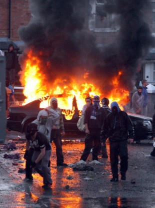 Trouble erupted in Ardoyne this year, surrounding the Twelfth of July march.